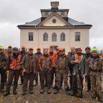 15 ungdomsledare fick möjligheten att vara med i jakt på Öster Malma. Foto Magnus Rydholm
