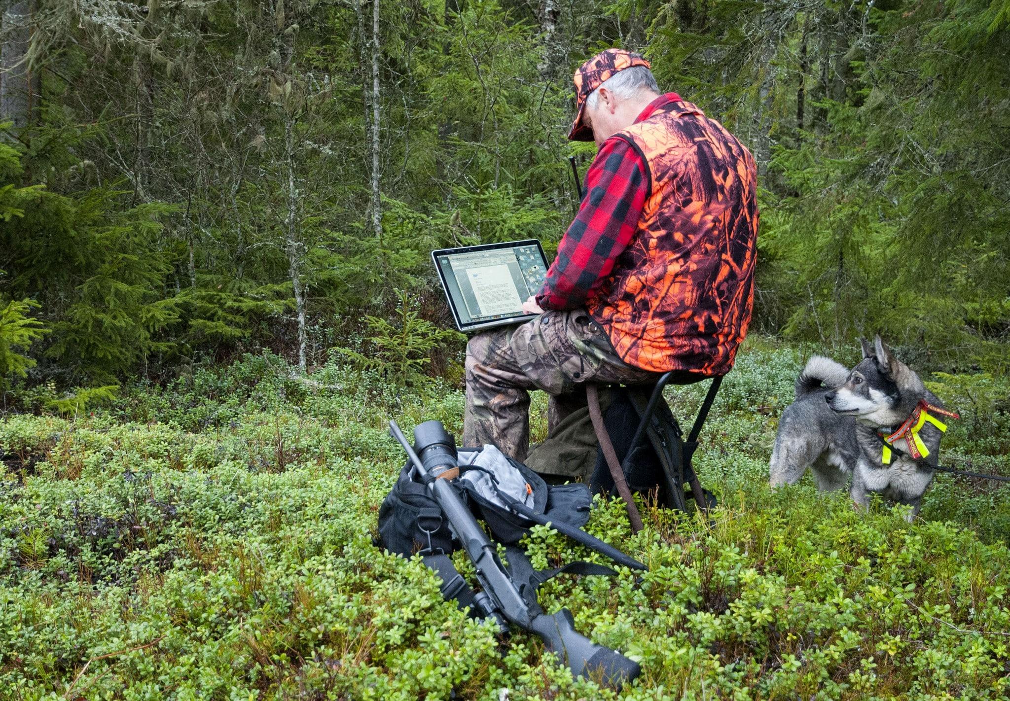 kan du journalistiken, tekniken och jakten? Då är du personen vi söker. Foto: Jan Henricson
