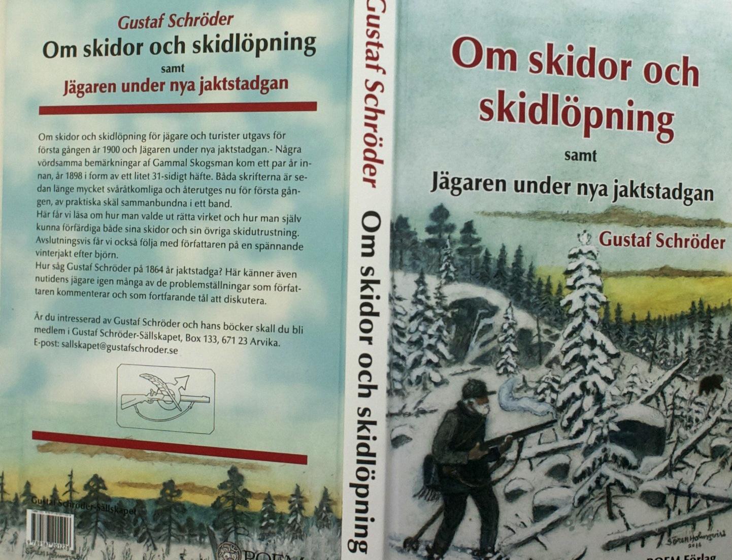Om skidor och skidåkning av Gustaf Schröder.