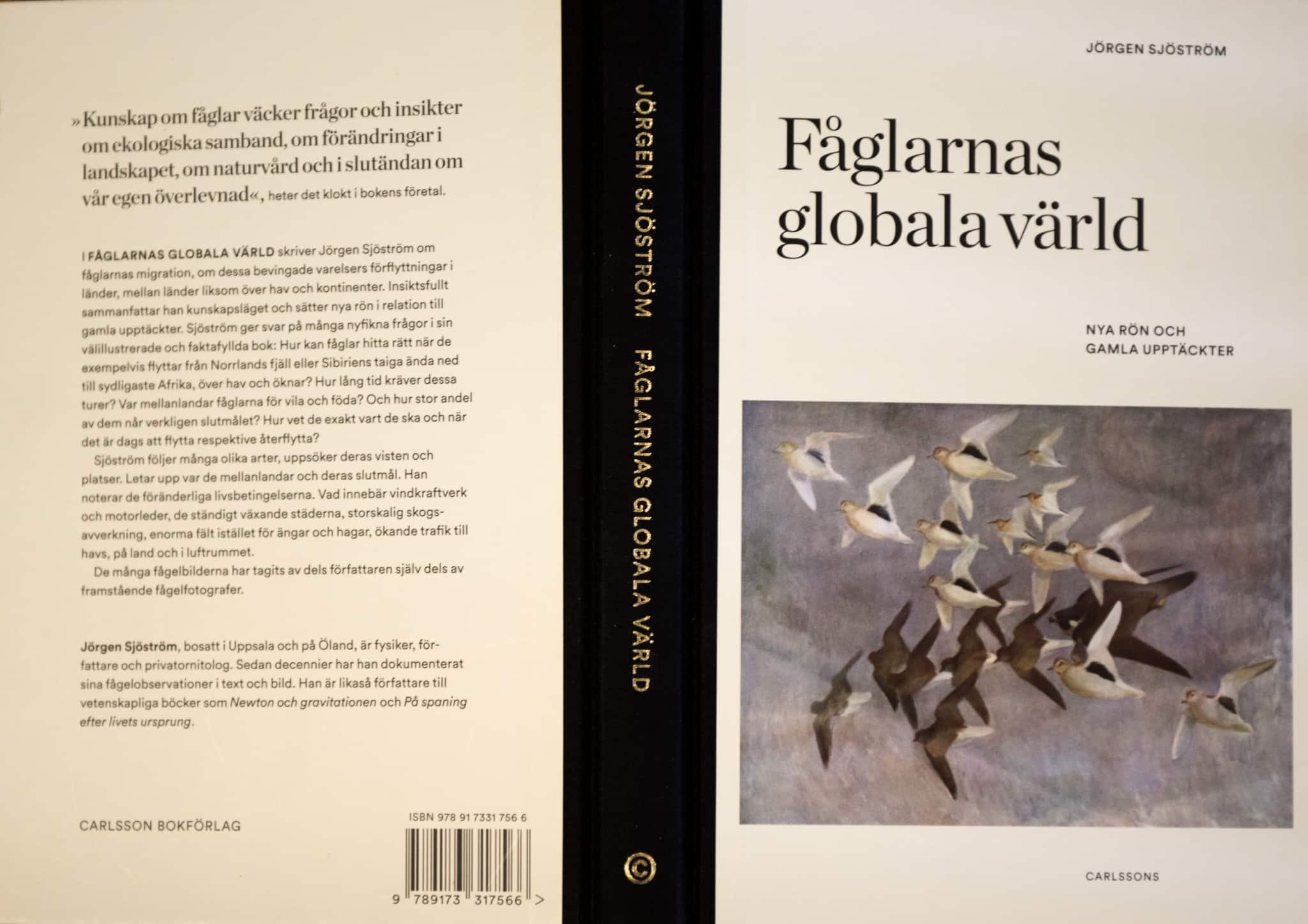 Fåglarnas globala värld, utgiven av Carlssons förlag.