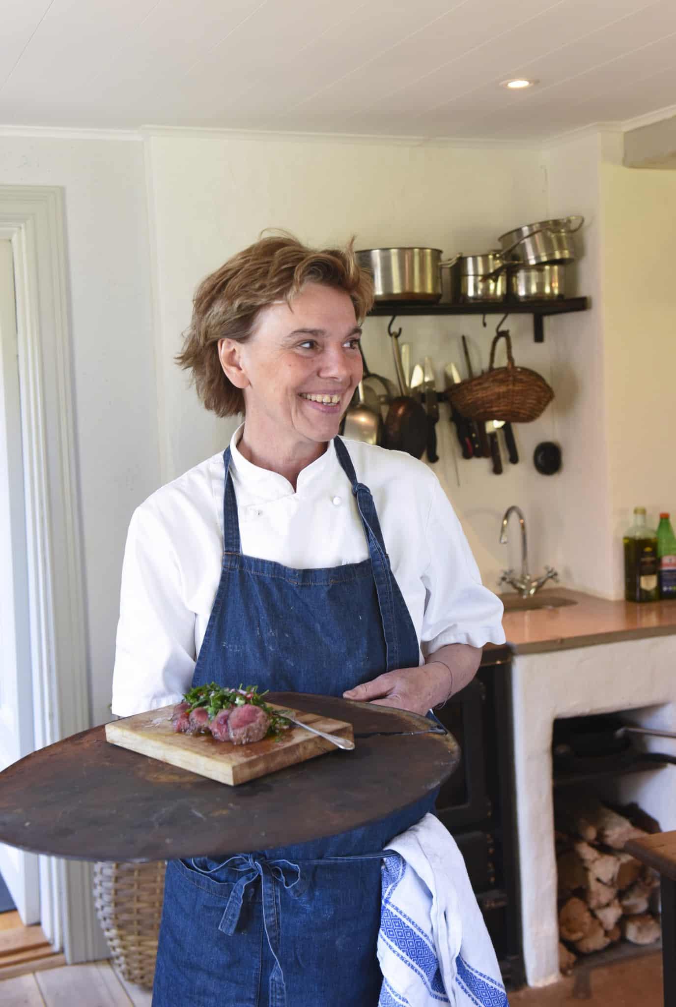 Dollan von Essen – kock och jägare. Foto: Lena Runer