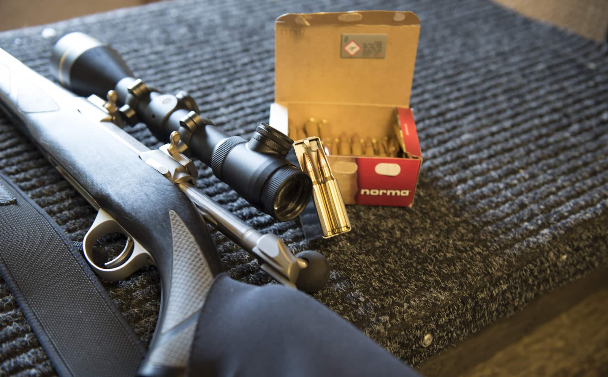 """En studsare i .308W är ett av våra vanligaste jaktvapen. Men """"militär ammunition""""? Inte alls, anser företrädare för Jägareförbundet."""