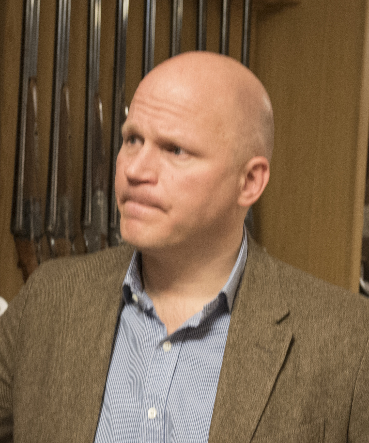 Anders Lindström, ordförande i Sveriges vapenhandlares förening. Foto: Jan Henricson
