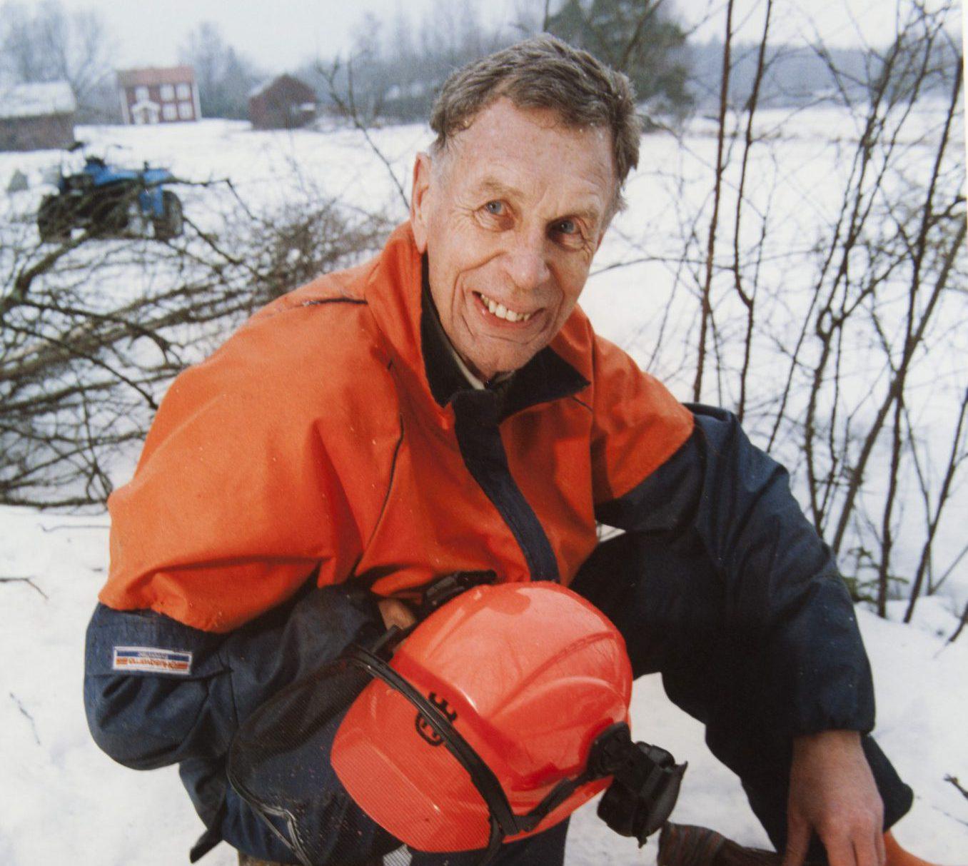 Svenska Jägareförbundets tidigare ordförande (1988–1996) Jan Olof Pettersson har avlidit i en ålder av 84 år. Foto: Per Klaesson