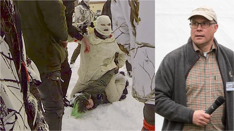 Våldet mellan jägare och aktivister har eskalerat under året vargjakt i Kölstareviret. En utveckling som Torbjörn Larsson, ordförande i Svenska jägareförbundet inte försvarar. Foto: Martin Källberg