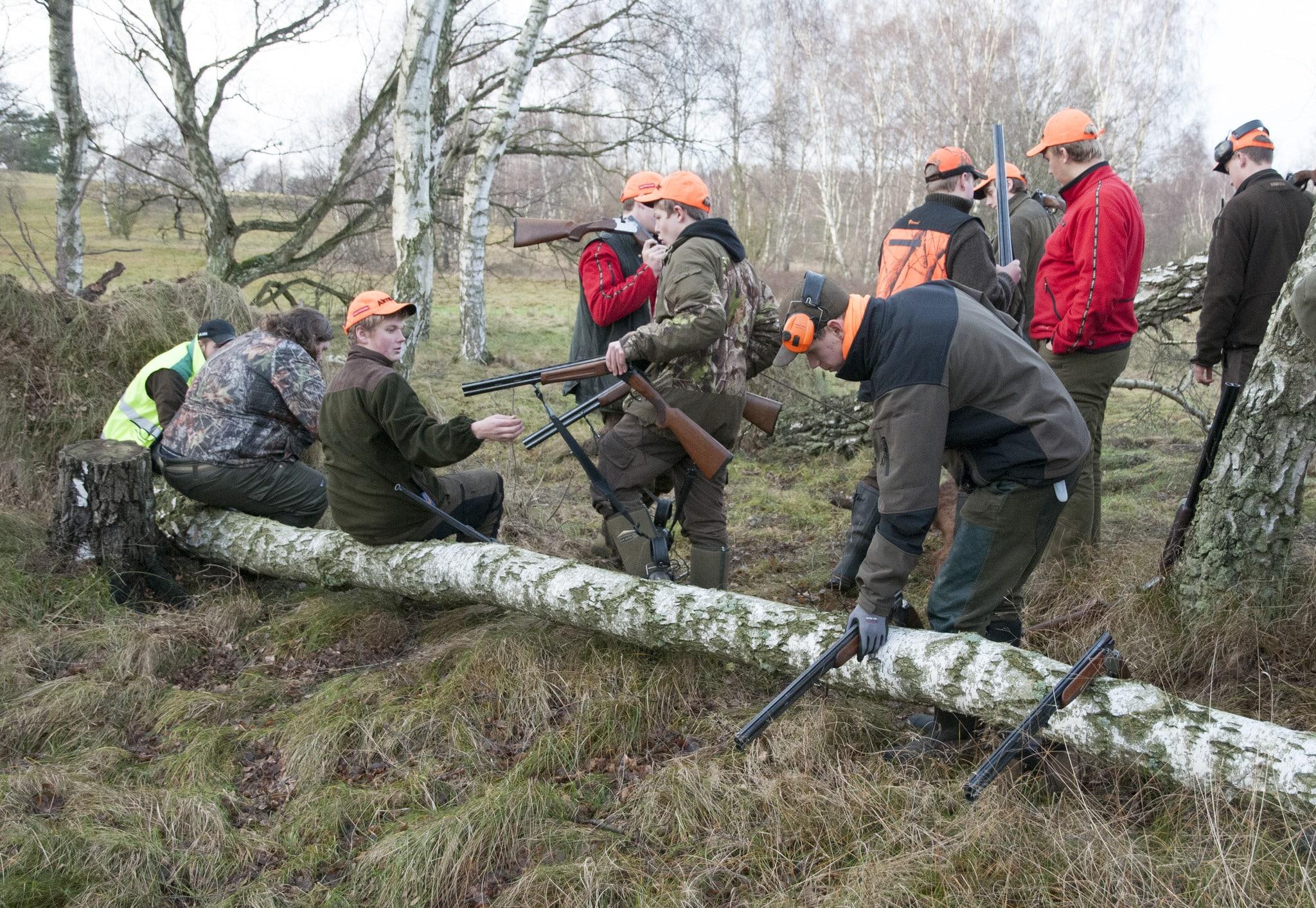 Utbildningen till jaktguide vid ForshagaAkademien får fortsätta som yrkeshögskola. Foto: Jan Henricson