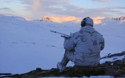 Det blir aldrig för kallt för att jaga. Foto: Ulf Lindroth