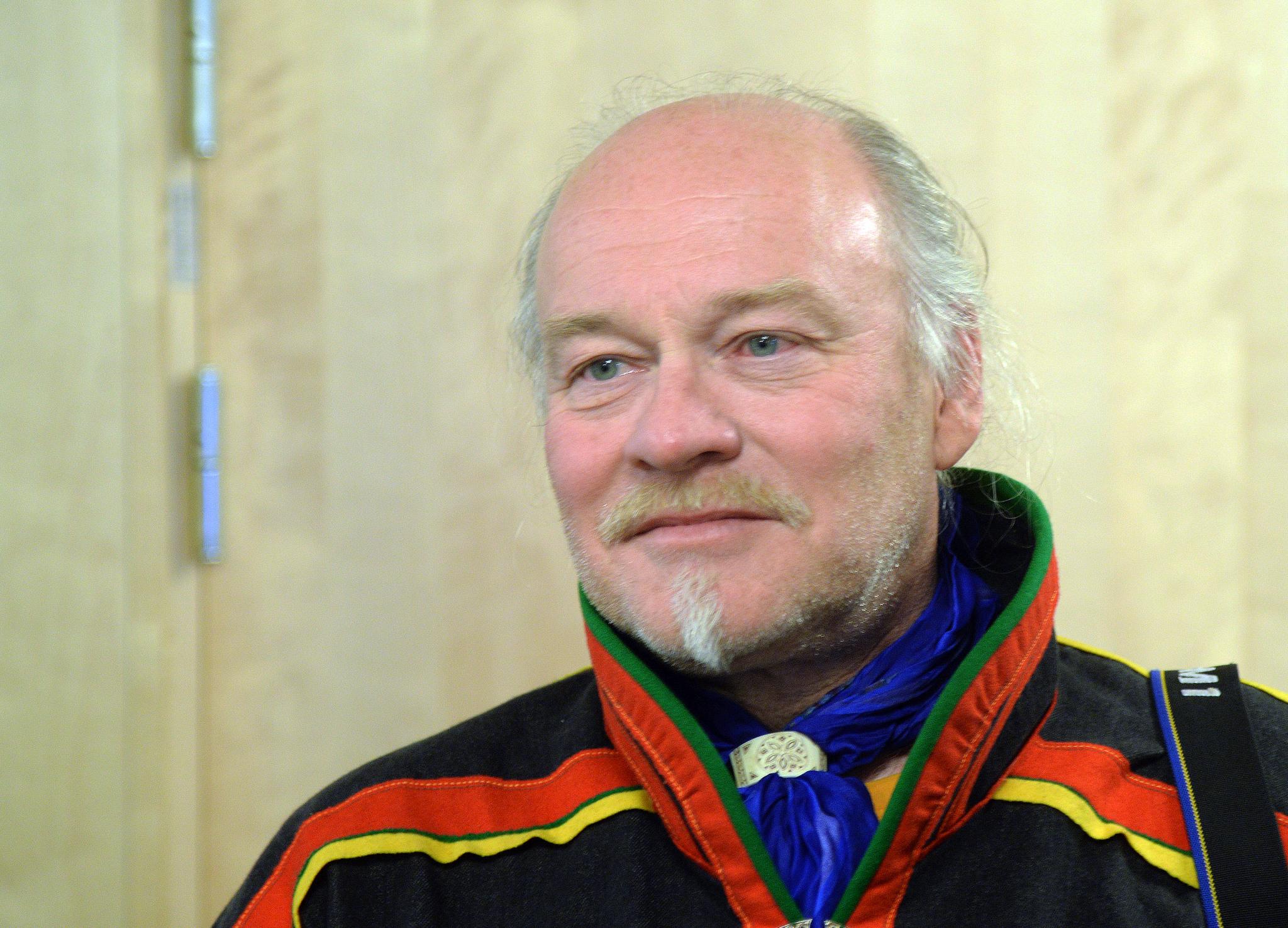 Matti Berg, ordförande Girjas sameby.