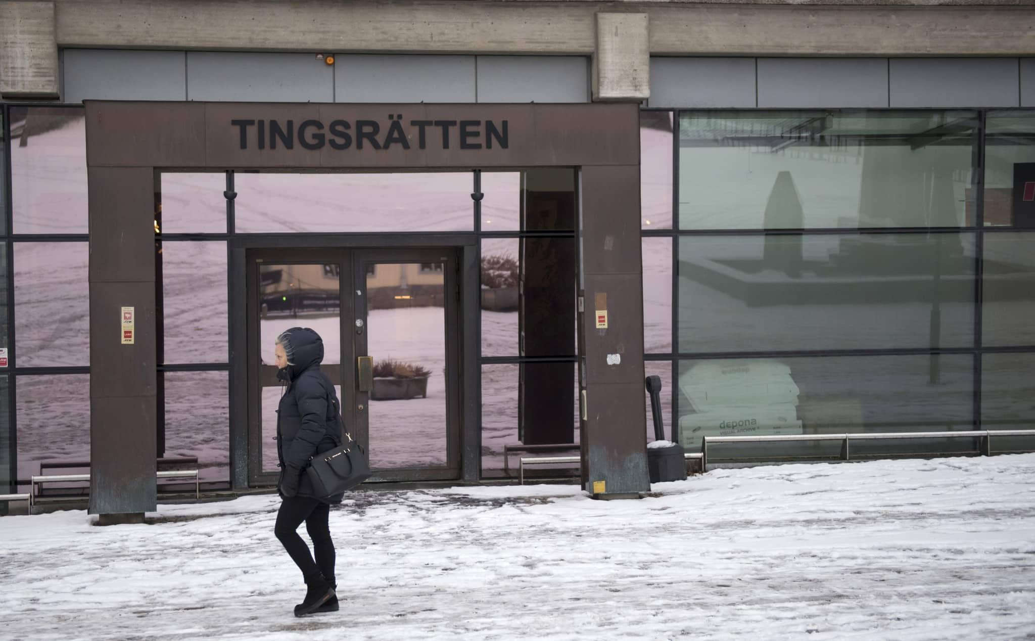 Tingsrätten i Södertälje.