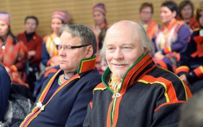 Matti Berg, ordförande i Girjas sameby, tycker att hovrätten dom var både märklig och otydlig. Foto: Lars-Henrik Andersson