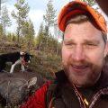 Fredrik Johansson är rovdjursansvarig i Värnamo jaktvårdskrets. Foto: Privat