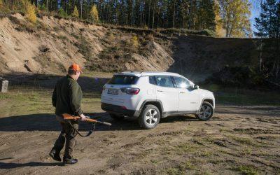 Svensk Jakt testar jaktbilar. Foto: Lars Nilsson