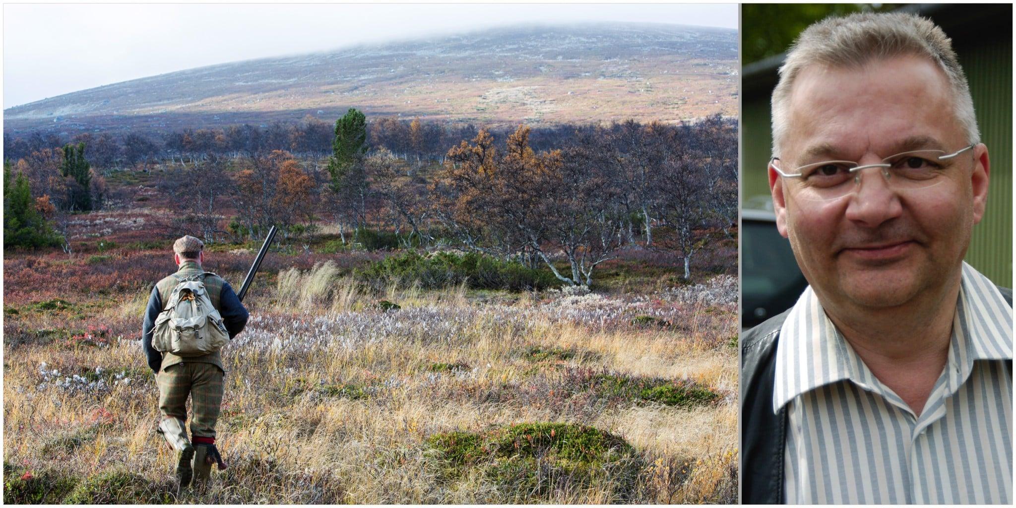 De flesta är nöjda med regeländringarna kring fjälljakten som genomfördes förra året, menar jaktvårdskonsulent Hans Geibrink. Foto: Olle Olsson