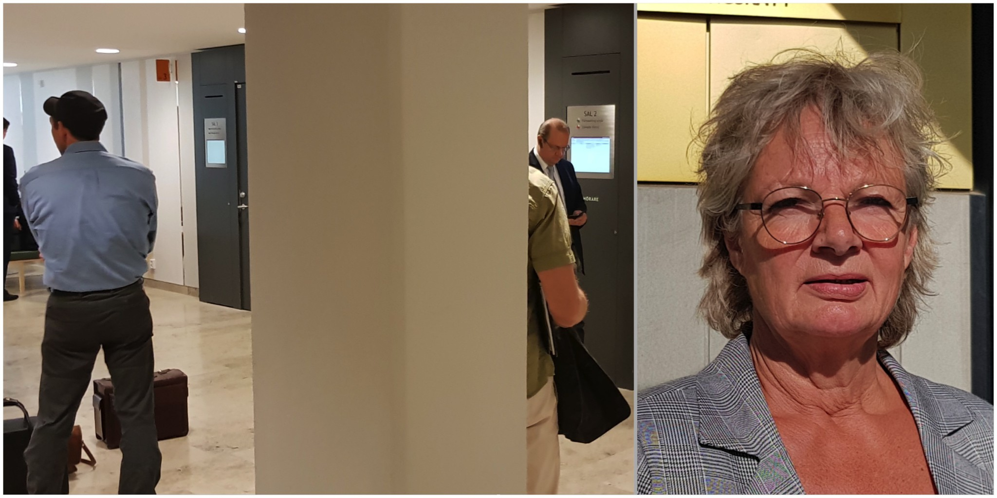 Den 28 maj inleds hovrättsrättegången i den så kallade jaktbrottshärvan i Norrbotten. Samtliga tidigare dömda jägare har överklagat tingsrättens dom, liksom åklagare Åse Schoultz, till höger. Foto: Lars-Henrik Andersson