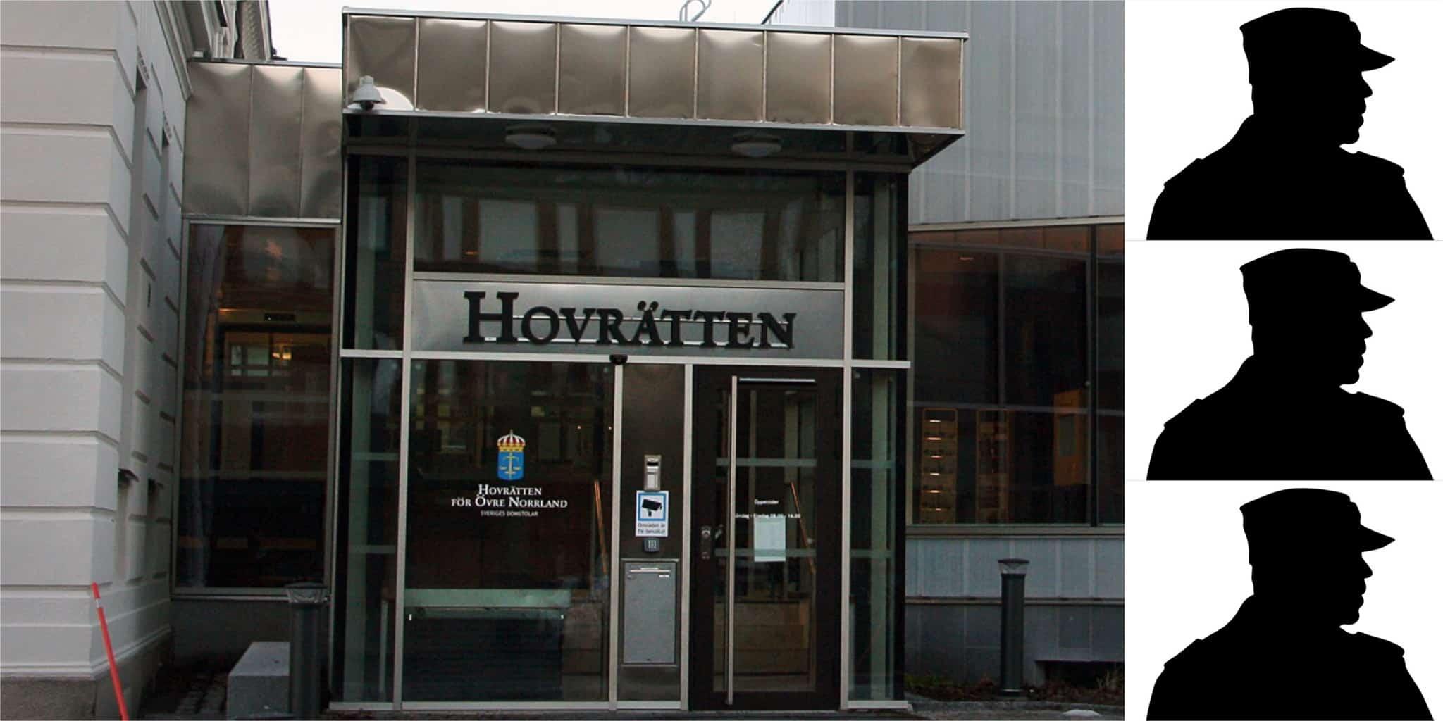 Hovrätten för övre Norrland dömer tre av männen i jaktbrottshärvan till fängelse. Foto: Lars-Henrik Andersson