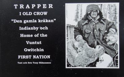 Trapper i Old Crow.