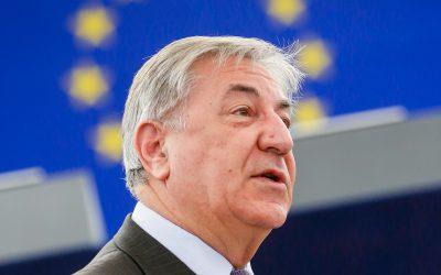 EU:s miljökommissionär Karmenu Vella.