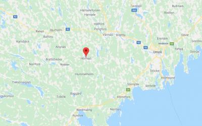 Hörnsjö, Västerbotten.