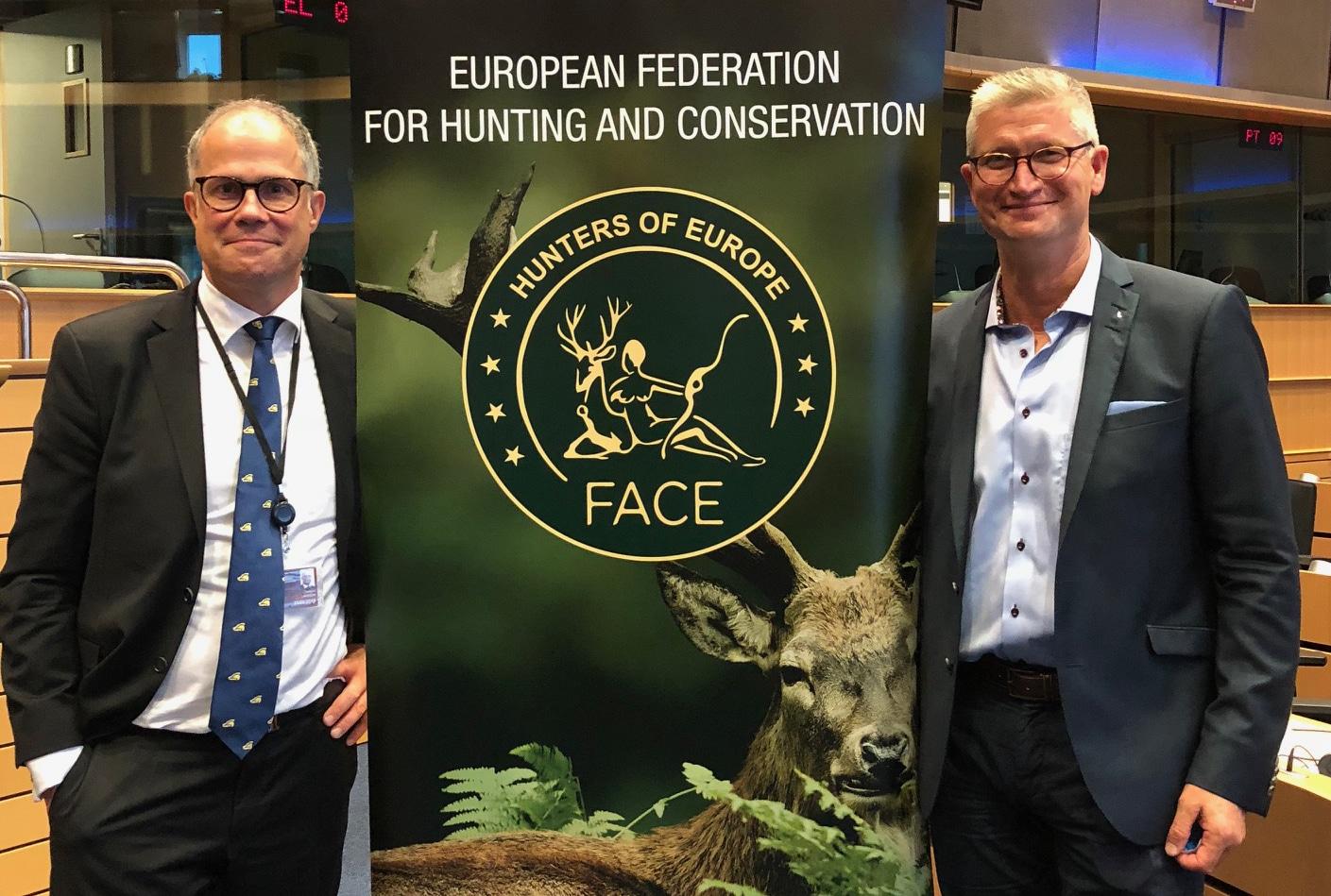 Torbjörn Larsson, till vänster, samt Bo Sköld.