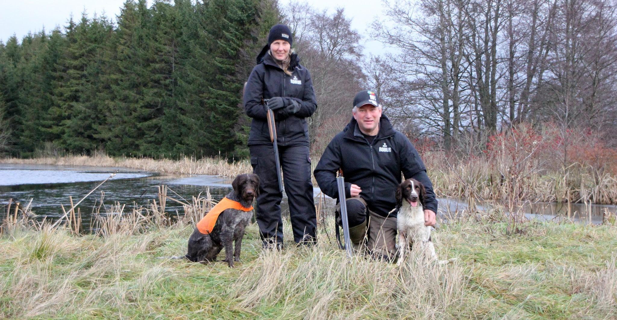 Hedängens kennel med makarna Ingrid och Tomas Olofsson väljer Bozita Robur till Landinarnas Daisy och Snöyran's Glimra.