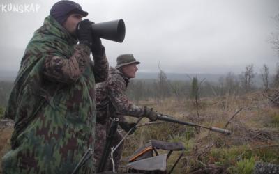 Jaktkunskap på älglock i Jämtland.