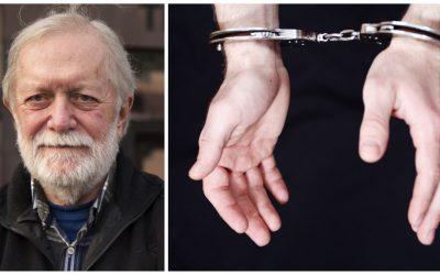 Björn Törnvall, bilden, menar att det är anmärkningsvärt att den 69-årige företagsledaren förs till häktningsförhandlingen kedjad med handfängsel. Foto: Jan Henricson/Mostphotos