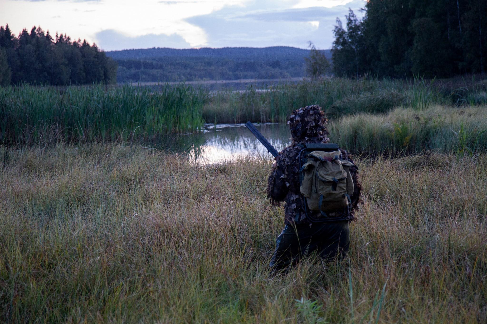 Att det här är en våtmark där blyhagel inte ska användas protesterar nog ingen emot.