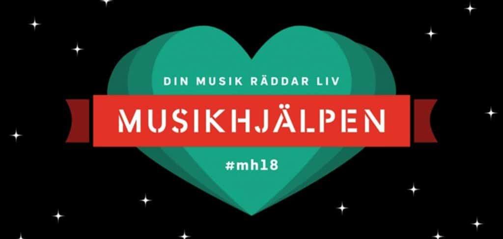 Musikhjälpen 2018 sänds 10–16 december från Stortorget i Lund.