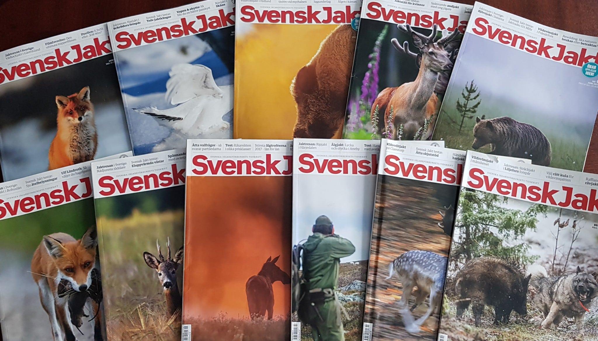 Vilket av Svensk Jakts omslag tycker du har varit bäst under 2018?