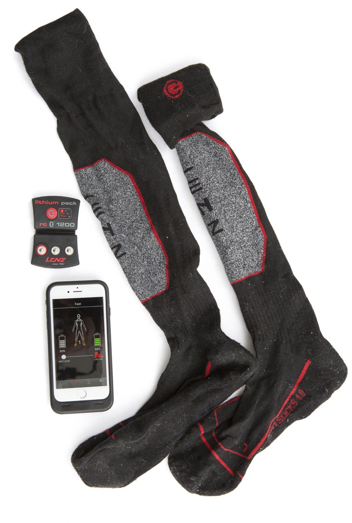 Lenz Heat Sock 1.0 + Lithium Pack.