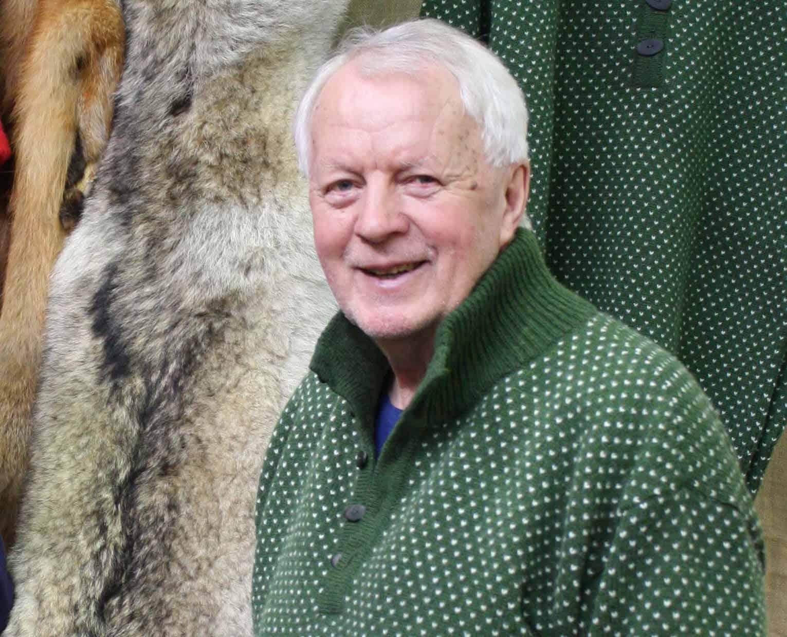 John S Opdahl har sedan 1986 drivit Fangstmannsforeningen i Norge. Foto: Villmarksmessa på Melhus