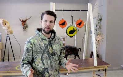 Christian Larsson visar hur du enkelt tillverkar dina egna kaliber .22-skjutmål.