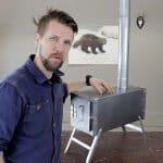 Christian Larsson visar i vår webb-tv hur du gör din egen kamin utan att behöva svetsa.