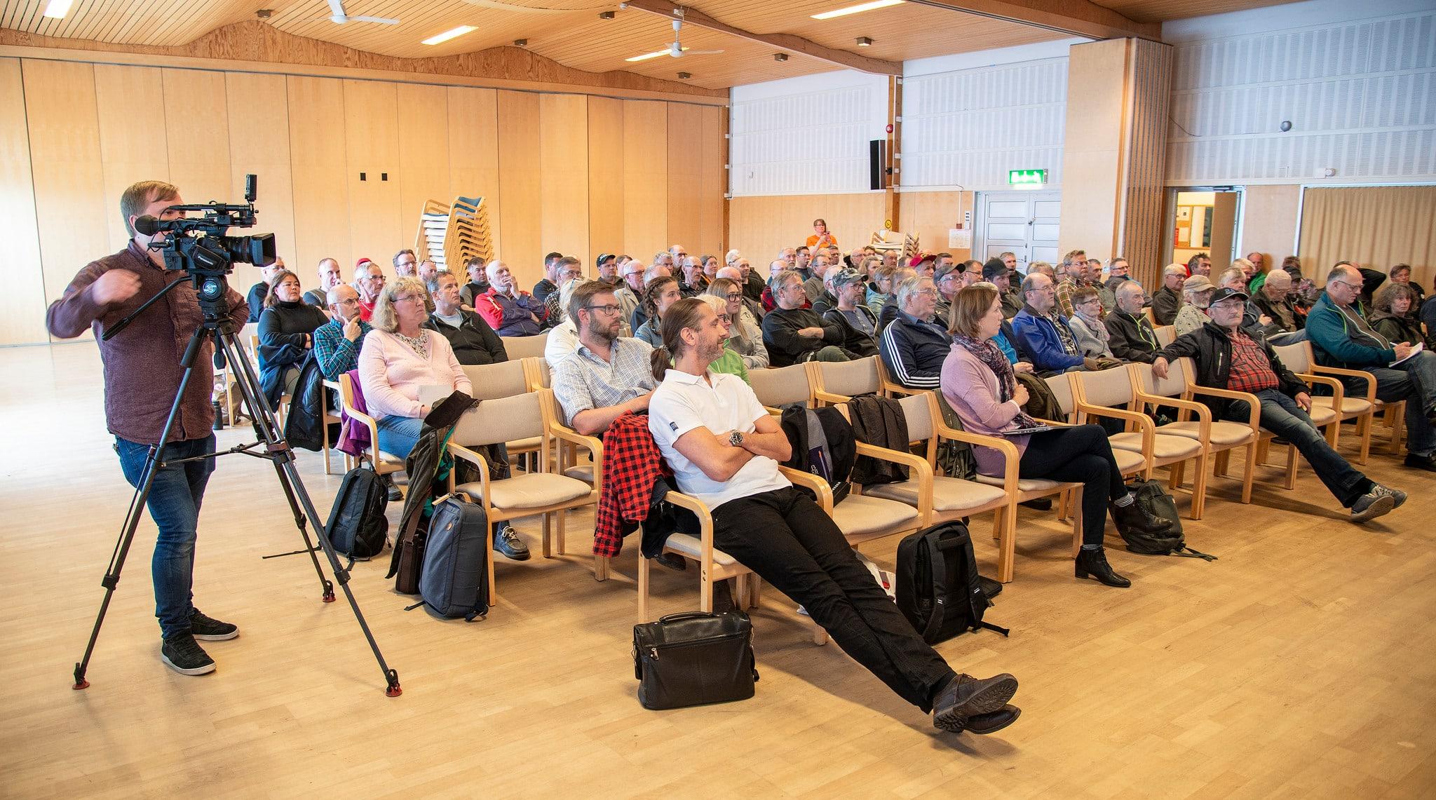 Mötet om CWD i Arjeplog lockade många intresserade jägare. De kommer nu få en viktig roll i jakten på fler svar om den delvis mystiska och svåra sjukdomen som drabbar bland annat ren och älg.
