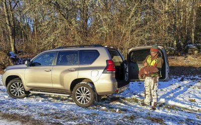 Vi testar bilar för jakt och vardag. Foto: Lars Nilsson