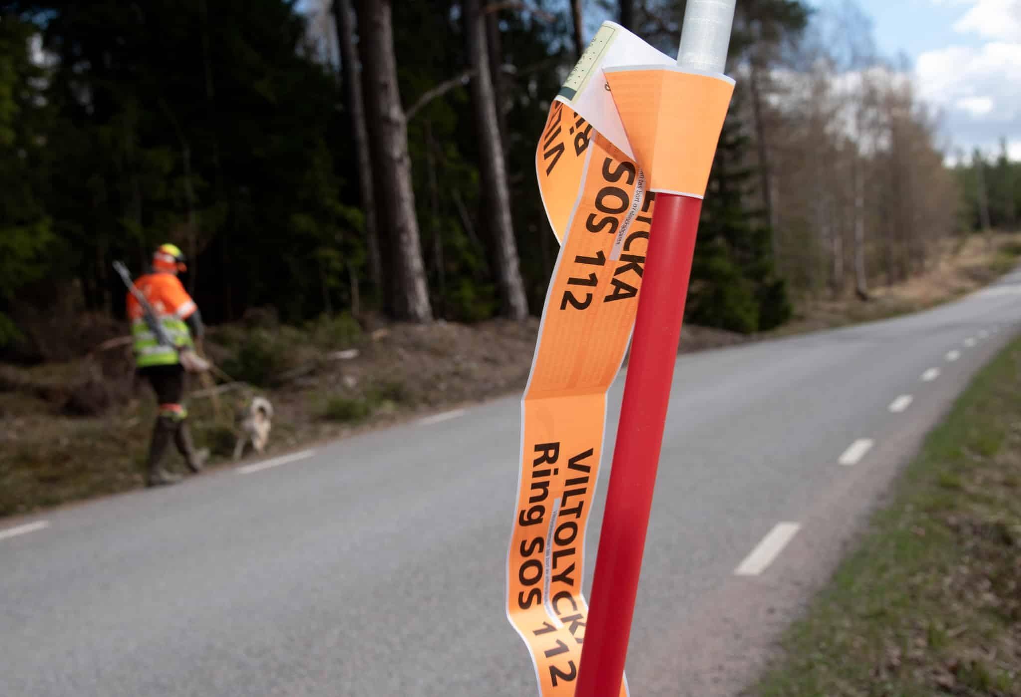 Ensamarbete vid eftersök ska undvikas. Av säkerhetsskäl bör man vara två, lyder kravet i en av flera motioner om viltolyckor och eftersök.