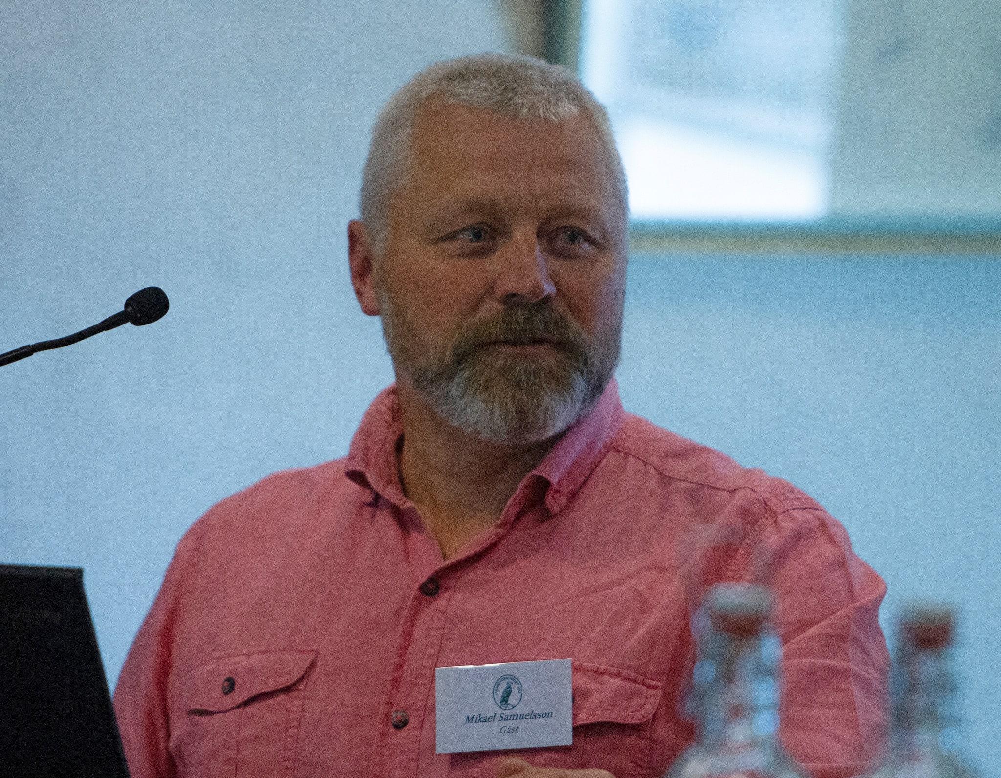 Mikael Samuelsson, Norrbotten, valdes in i Svenska Jägareförbundet styrelse.
