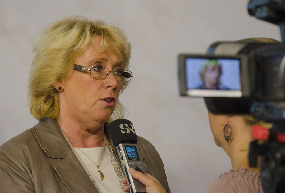 Miljöminister Lena Ek. Foto: Martin Källberg