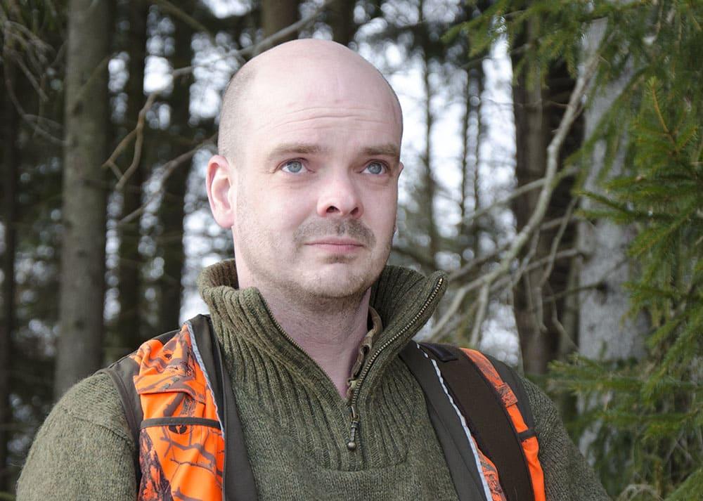 Jägareförbundets riksjaktvårdskonsulent Daniel Ligné. Foto: Martin Källberg