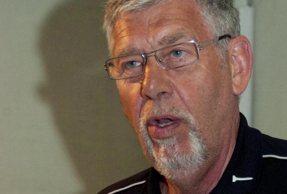 Göran Gunnarsson, ordförande i Jägareförbunder Örebro, rekommenderar sina medlemmar att avstå deltagande i den beslutade vargjakten. Foto: Magnus Rydholm