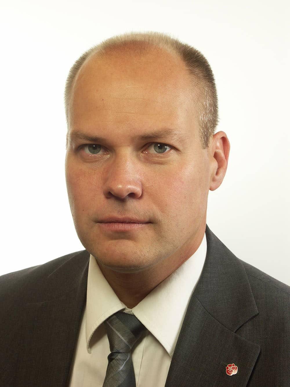 Morgan Johansson, Socialdemokraterna.