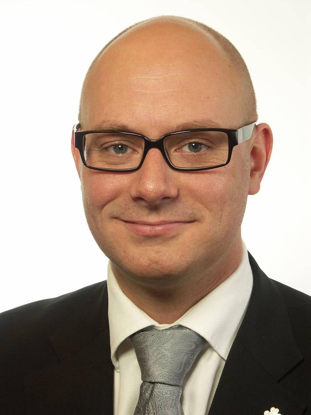 Johan Linander, Centerpartiet.