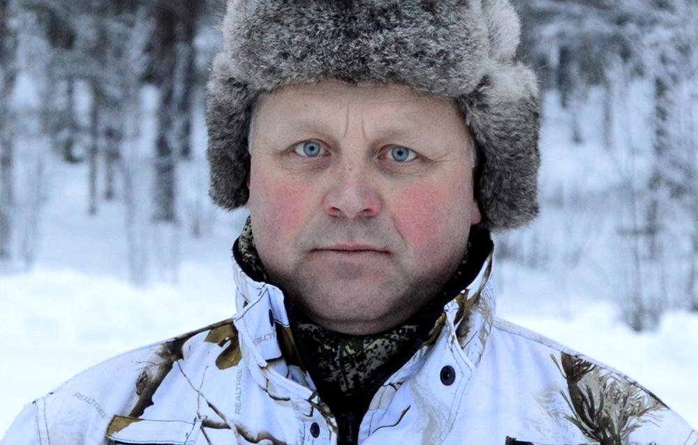 Mikael Samuelsson, ordförande i Jägareförbundet Norrbotten.