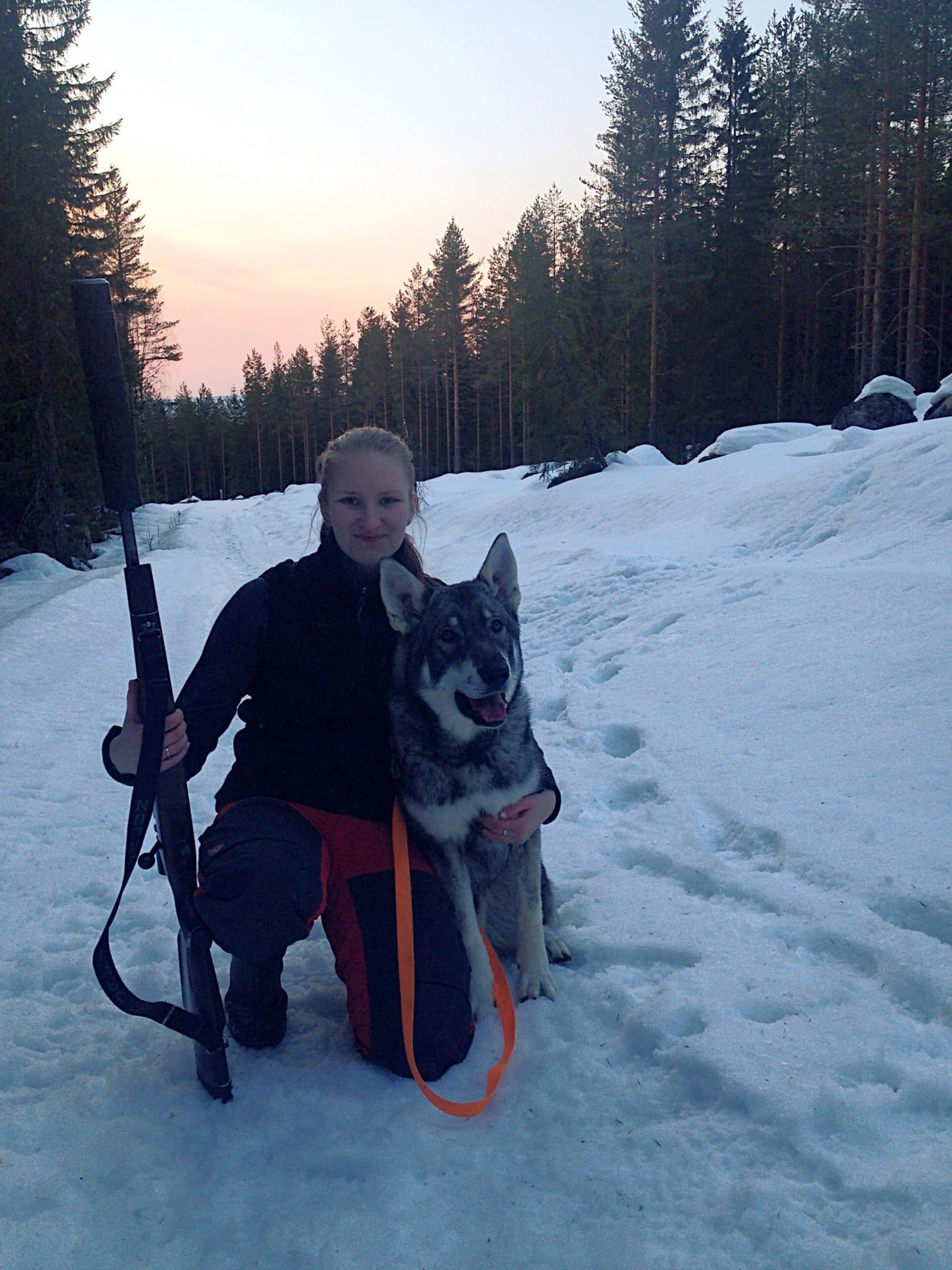 Emelie Runelid är en av pangbrudarna som ska tävla i Kretskampen. Foto: Emelie Runelid