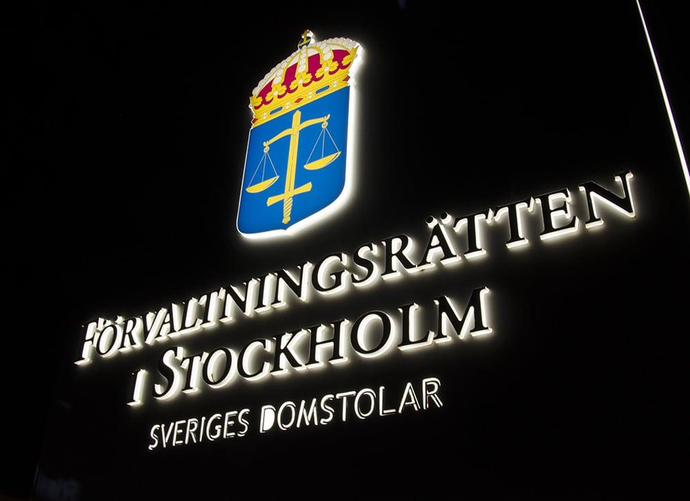 Efter tre månader har förvaltningsrätten fortfarande ingen dom. Foto: Martin Källberg