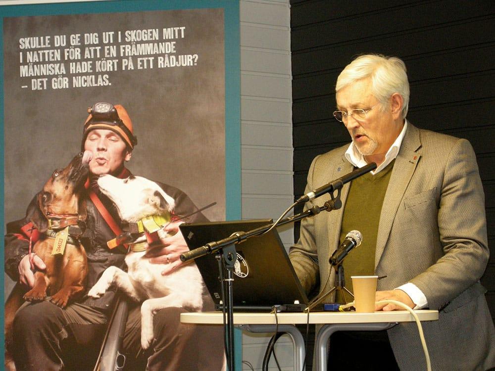 K G Abramsson vill inte kommentera hur valberedningen diskuterat internt men deras förslag har mött kritik i varglänen. Foto: Anja Kjellsson