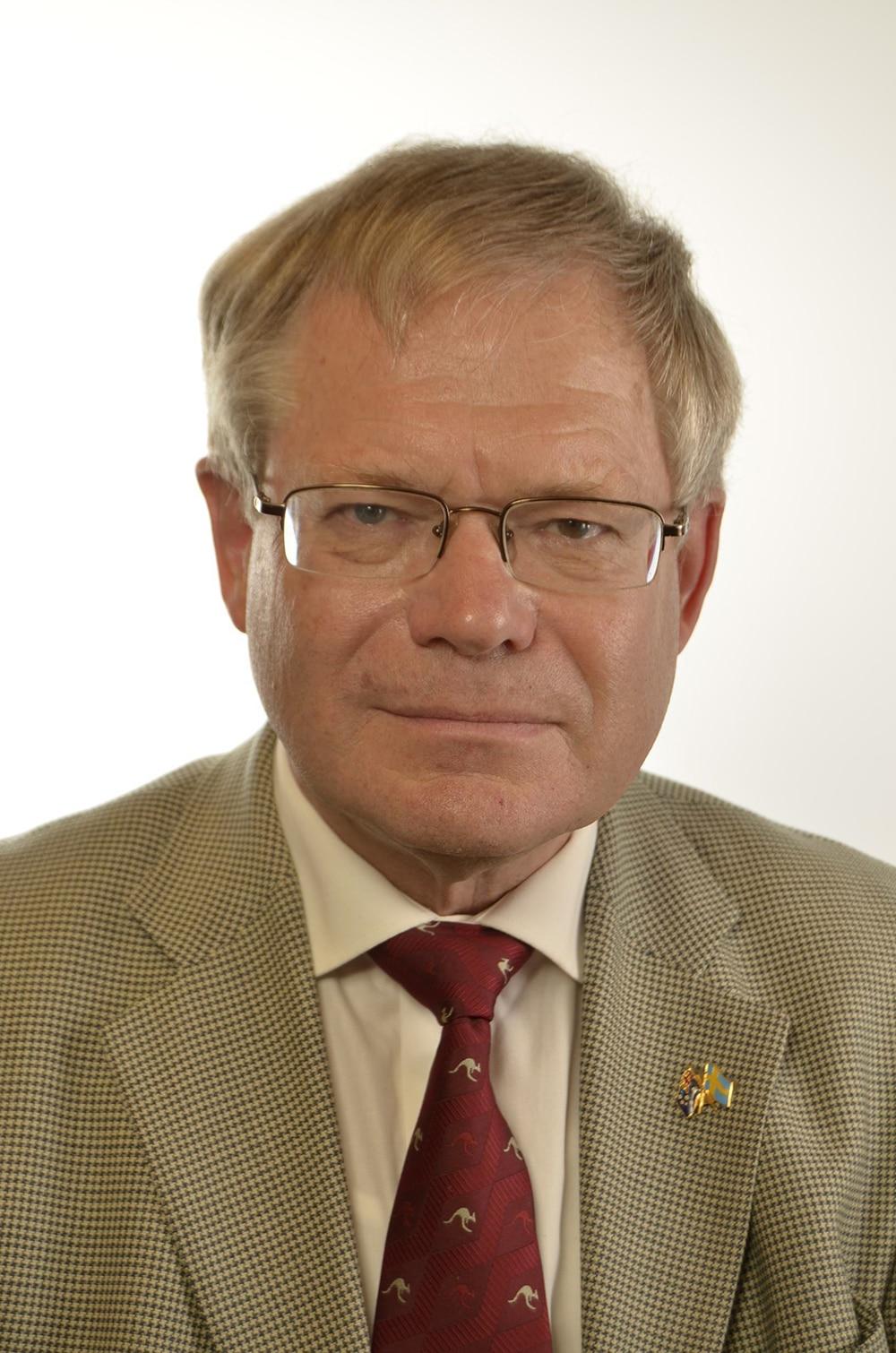 Riksdagsledamot Per-Ingvar Johansson (C) tycker inte att varg ska finnas i Skåne.