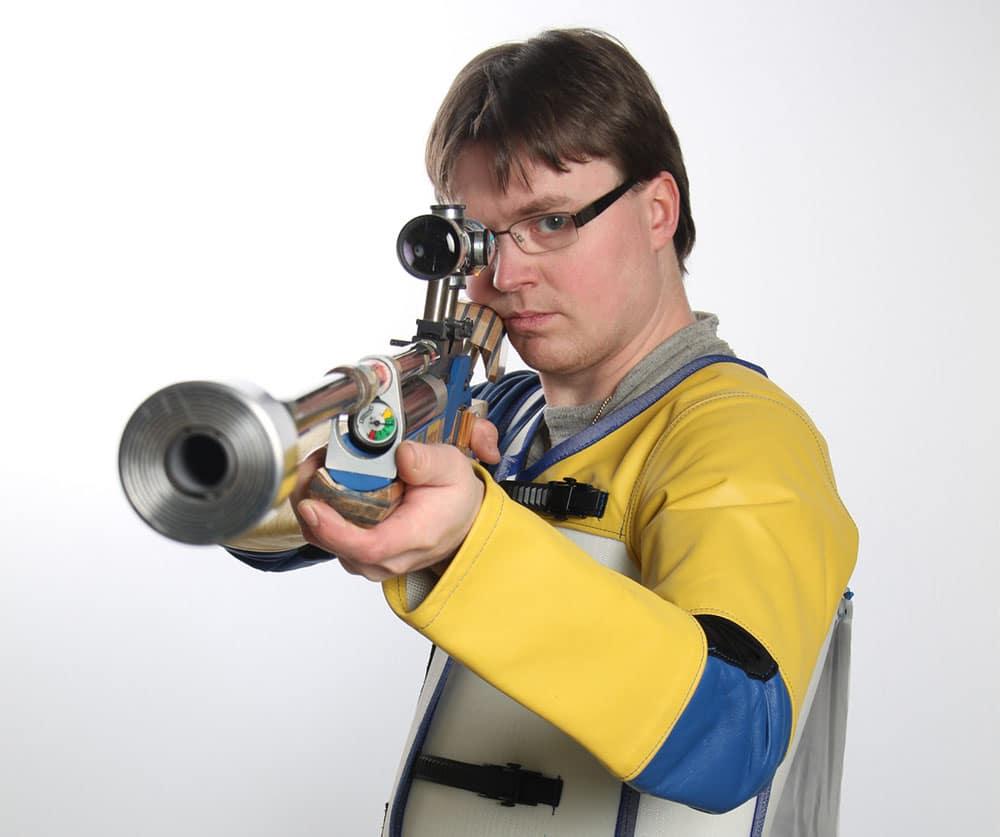 Emil Martinsson är en medaljsamlare av rang. I och med detta VM har han elva individuella medaljer som senior. Foto:www.skyttesport.se