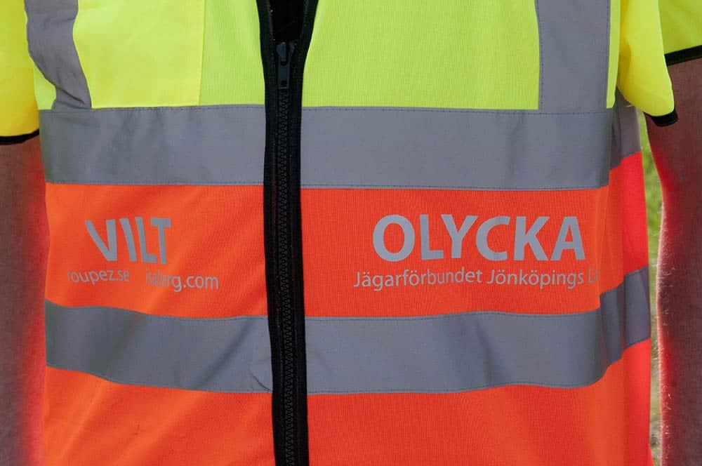 Jägarnas pengar i Viltvårdsfonden har använts för att bekosta eftersöken av trafikskadat vilt på väg och järnväg. Foto: Jan Henricson