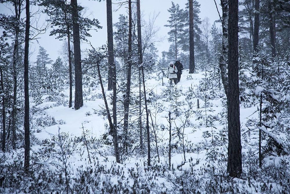 Vargjägare i Värmland.